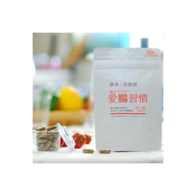 焼津市 ふるさと納税 定期便 6ヶ月 腸活 サプリ 愛腸習慣 酵素 乳酸菌(a60-004)