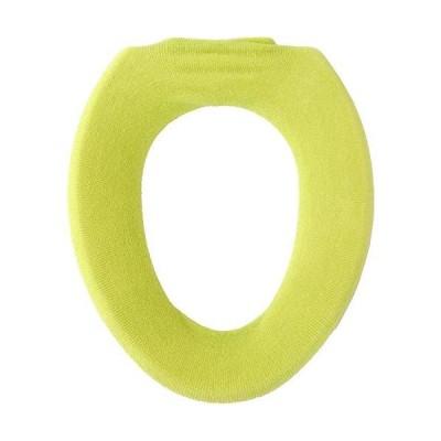 オカ 便座カバー ノルン O型専用便座カバー グリーン 27×18×2.5cm