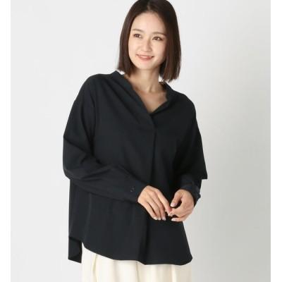 【ミューズ リファインド クローズ/MEW'S REFINED CLOTHES】 ストレッチスキッパーブラウス
