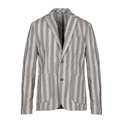 MARCIANO テーラードジャケット 鉛色 46 ポリエステル 50% / レーヨン 50% テーラードジャケット