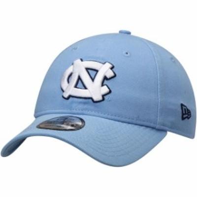 New Era ニュー エラ スポーツ用品  New Era North Carolina Tar Heels Carolina Blue Team Core 9TWENTY Adjustable Hat