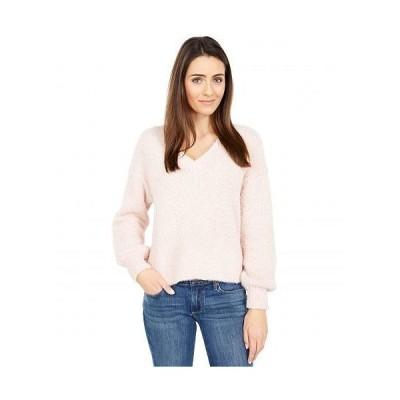 Sanctuary サンクチュアリ レディース 女性用 ファッション セーター V-Neck Cozy Sweater - Pearl