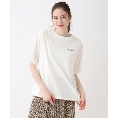 SHOO・LA・RUE/Cutie Blonde(シューラルー) 【S-L】バックプリントBIGロゴTシャツ