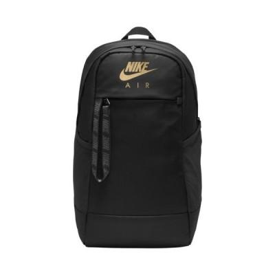 (取寄)ナイキ メンズ エッセンシャル バックパック Nike Men's Essential Backpack Black Metallic Gold