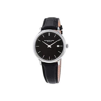 RAYMOND WEIL Toccata - 5485-STC-20001 Black One Size[並行輸入品]