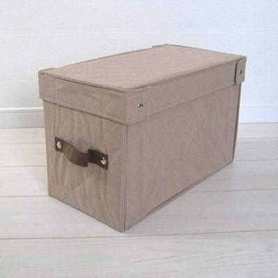 折りたたみ収納BOX ベージュ・Aタイプ b1(ベージュ)
