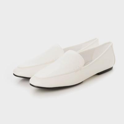 ローファーフラット / Loafer Flats (White)