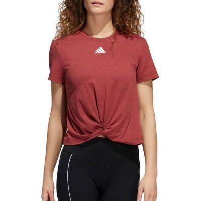 アディダス レディース シャツ トップス adidas Women's Knotted T-Shirt