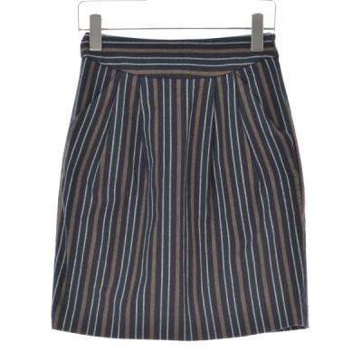 JEANASIS / ジーナシス ストライプ柄 スカート