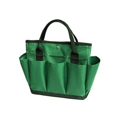 DAMEING Garden Tool Set, Gardening Tote Bag Garden Tool Storage Bag with Pockets, Wear-Resistant & Reusable, Gardening Tool Set Gifts for Wo