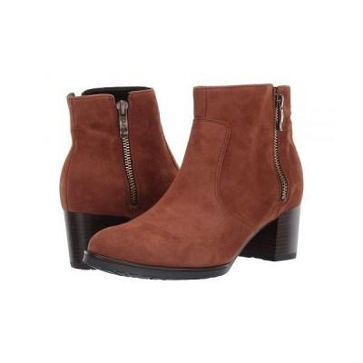 ara アラ レディース 女性用 シューズ 靴 ブーツ アンクルブーツ ショート Fia - Cognac Oilykid