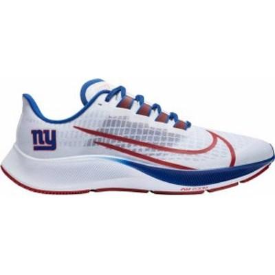 ナイキ レディース スニーカー シューズ Nike New York Giants Air Zoom Pegasus 37 Running Shoes White/Red/Blue