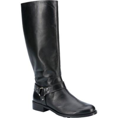 ウォーキング クレイドル レディース ブーツ&レインブーツ シューズ Kristen Wide Shaft Harness Boot Black Leather