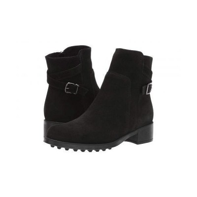 La Canadienne ラカナディアン レディース 女性用 シューズ 靴 ブーツ アンクル ショートブーツ Scorpio - Black Suede