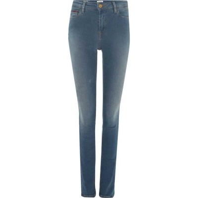 トミー ジーンズ Tommy Jeans レディース ジーンズ・デニム スキニー ボトムス・パンツ Hi Rise Skinny 7/8 Santana Jeans Denim