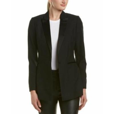 Blazer ブレザー ファッション 衣類 Reiss Rockie Wool Blazer 0 Black