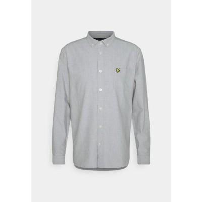 ライルアンドスコット メンズ ファッション SHIRT - Shirt - mid grey marl/white