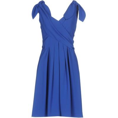 モスキーノ MOSCHINO ミニワンピース&ドレス ブライトブルー 40 64% トリアセテート 36% ポリエステル ミニワンピース&ドレス
