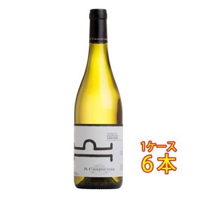 お歳暮 ギフト ワイン シャプティエ コトー・ド・ラルデッシュ ヴィオニエ ドメーヌ・デ・グランジュ・ド・ミラベル ビオ 白 750ml 6本 送料無料