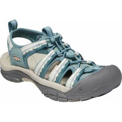 キーン レディース サンダル シューズ Women's Keen Newport H2 Sandal North Atlantic/Chinois Green