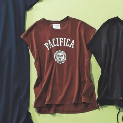 """MICA & DEAL(マイカ アンド ディール)/""""PACIFICA""""プリントTシャツ"""