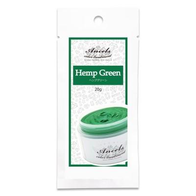 カラーバター プチ ヘンプグリーン 20g カラートリートメント ヘアカラー カラーケア 髪染め 派手色 エンシェールズ