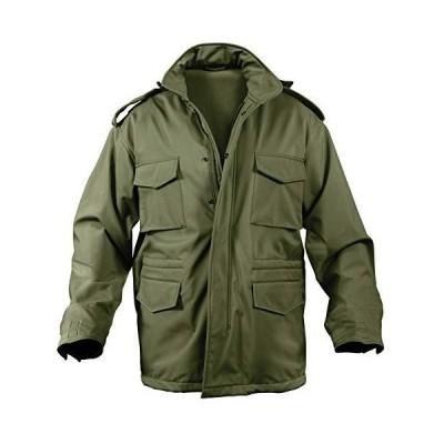 Rothco Soft Shell Tactical M-65 Jacket(ロスコ ソフトシェルM-65ジャケット) (XS, オリーブド