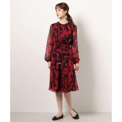 ドレス HADLEE ロココプリント ロングドレス