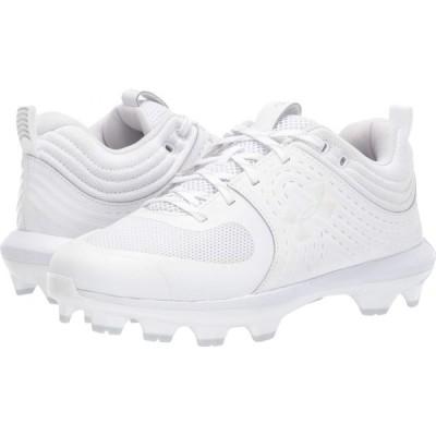 アンダーアーマー Under Armour レディース 野球 シューズ・靴 Glyde TPU White/White