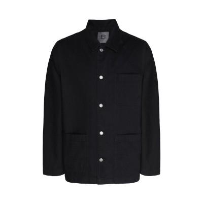8 by YOOX デニムシャツ ブラック S コットン 100% デニムシャツ