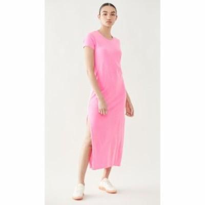 サンドリー SUNDRY レディース ワンピース ワンピース・ドレス Short Sleeve Maxi Dress Pigment Neon Pink