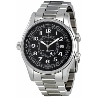 Hamilton Mens H77505133 Khaki Navy UTC Automatic Watch