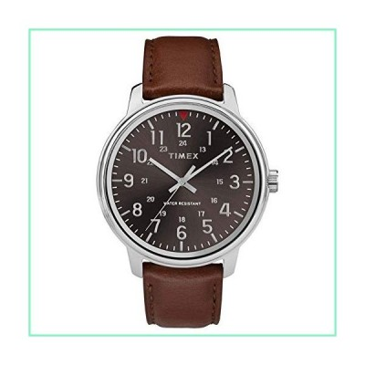Timex Mens Analogue Classic Quartz Watch with Leather Strap TW2R85700【並行輸入品】