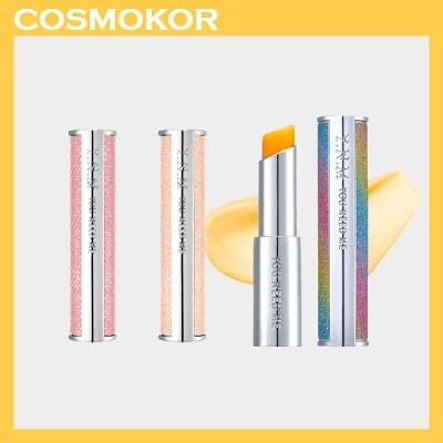 [1+1] YNM Rainbow Honey Lip Balm / Candy Honey Lip Balm Orange Red Light Pink  / レインボーハニーリップバーム