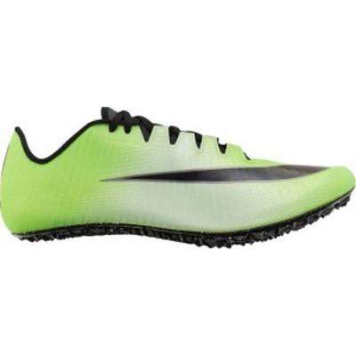 ナイキ メンズ スニーカー シューズ Nike Zoom Ja Fly 3 Track and Field Shoes Green/Black