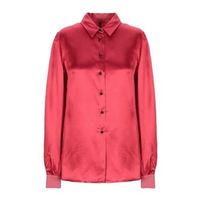 マニラ グレース MANILA GRACE シャツ レッド 38 アセテート 57% / レーヨン 43% シャツ