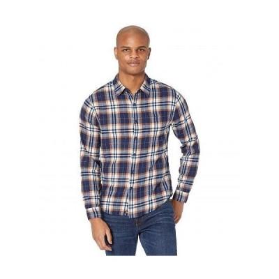 The Normal Brand メンズ 男性用 ファッション ボタンシャツ Stephen - Auburn Plaid