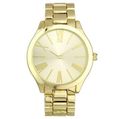 アイエヌシーインターナショナルコンセプト レディース 腕時計 アクセサリー INC Women's Gold-Tone Bracelet Watch 42mm