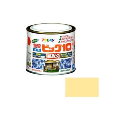 アサヒペン 水性ビッグ10 多用途 1/5L 227 クリーム色