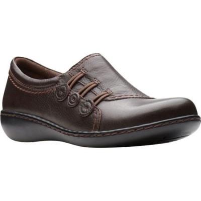 クラークス Clarks レディース シューズ・靴 Ashland Effie Dark Brown Full Grain Leather