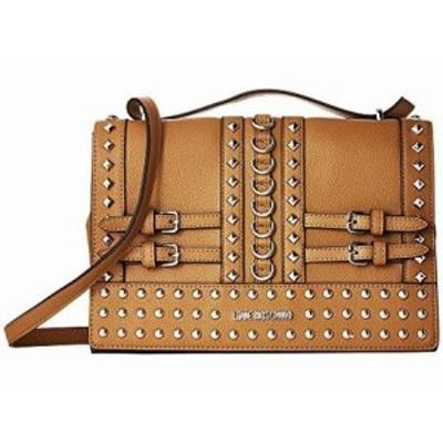 ラブ モスキーノ レディース ハンドバッグ Shoulder Bag with Belt Studs