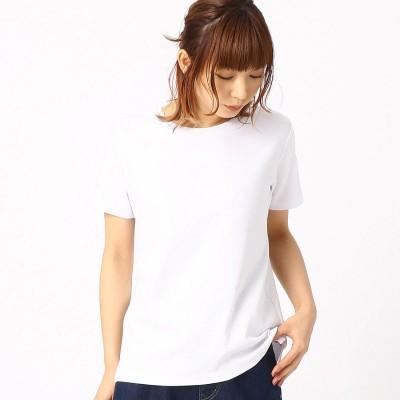 コムサイズム COMME CA ISM ベーシック Tシャツ (ホワイト)