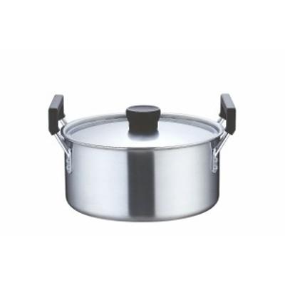TKG クラッド 実用鍋 24cm    [7-0040-0201 6-0044-0201  ]