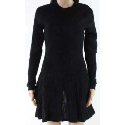 Susana Monaco スサナモナコ ファッション ドレス Susana Monaco NEW Black Womens Size Small S Knitted Sweater Dress