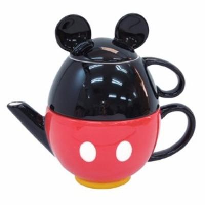 ミッキーマウス ティーセット ティーポット ティーカップ ディズニーキャラクターグッズ シネマコレクション