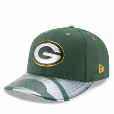 New Era ニュー エラ スポーツ用品  New Era Green Bay Packers Green NFL Spotlight Low Profile 59FIFTY Fitted Hat