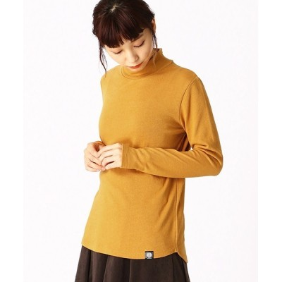 COMME CA ISM / 【カラー豊富】ハイネック カットソー WOMEN トップス > Tシャツ/カットソー