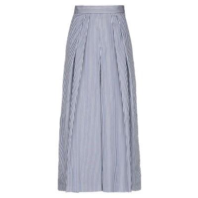 ANTONIO MARRAS ロングスカート ブルー 42 コットン 100% ロングスカート
