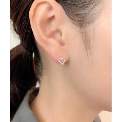 wears / silver925 ミニハートピアス WOMEN アクセサリー > ピアス(両耳用)