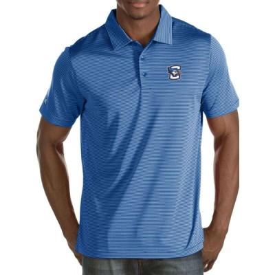 アンティグア Antigua メンズ ポロシャツ トップス Creighton Bluejays Blue Quest Polo